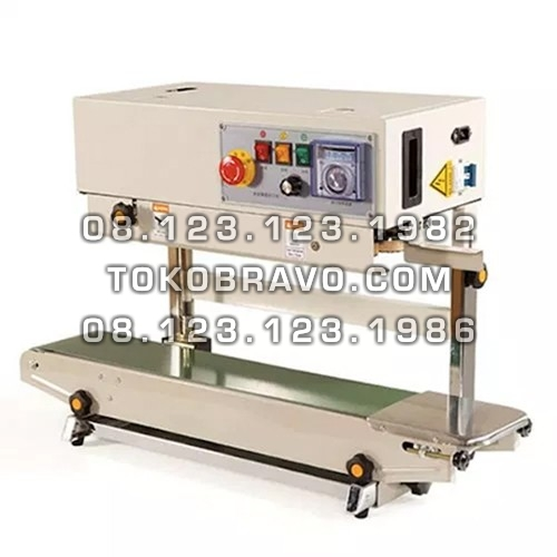 Vertical and Horizontal Continuous Band Sealer FR-900V Getra
