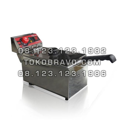 Electric Deep Fryer with Mirror FRY-E61M Fomac