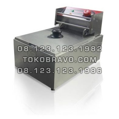 Electric Deep Fryer Single Tank FRY-EZL1 Fomac