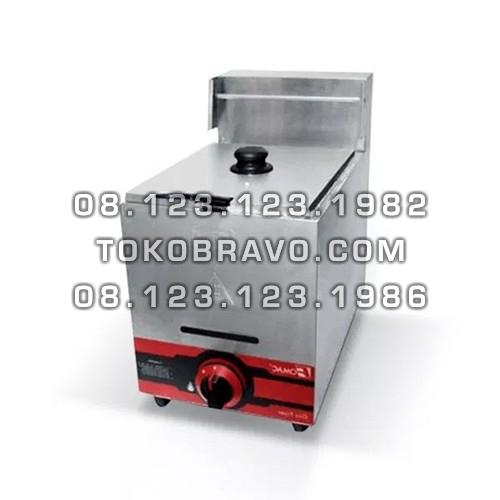 Gas Deep Fryer Single Tank FRY-G71 Fomac
