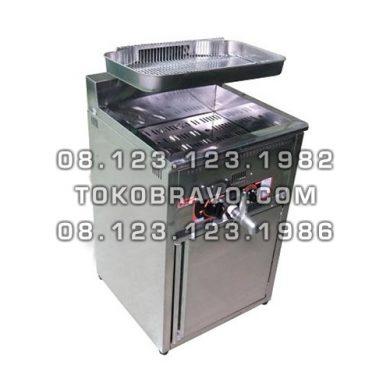 Gas Deep Fryer 17L FRY-GAT17LCF Fomac