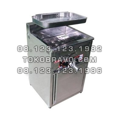 Gas Deep Fryer 17L FRY-GAT17L Fomac
