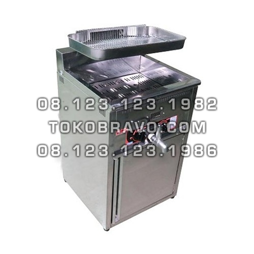 Gas Deep Fryer 17L FRY-GAT17L Fomac