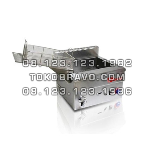 Gas Deep Fryer 18L FRY-GF18V Fomac