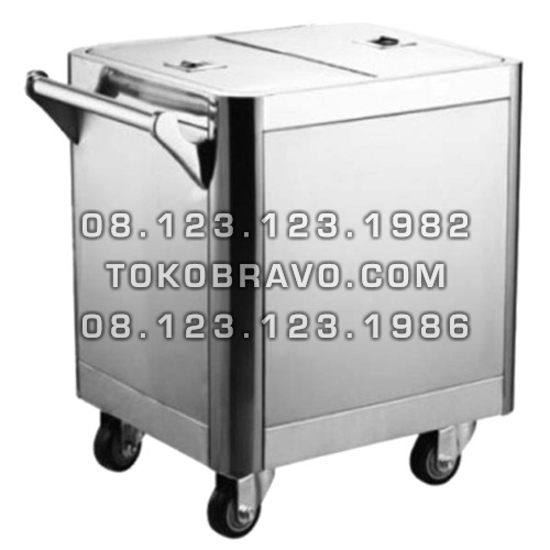 Stainless Steel Flour Trolley FT-80L Getra