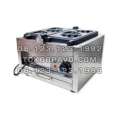 Electric 3 Poopy Waffle Maker FWB-E1103C Fomac