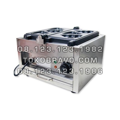 Electric 3 Poopy Waffle Maker FWB-E1103C Fomac