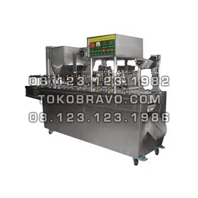 Automatic Cup Filling Sealing Machine GD-Series 2 Line Powerpack