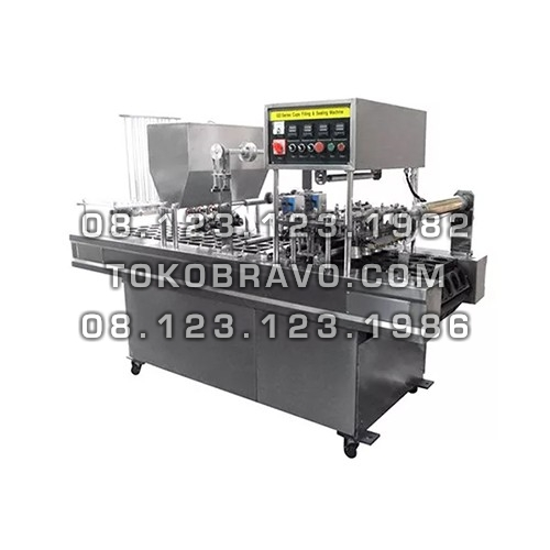 Automatic Cup Filling Sealing Machine GD-Series 4 Line Powerpack