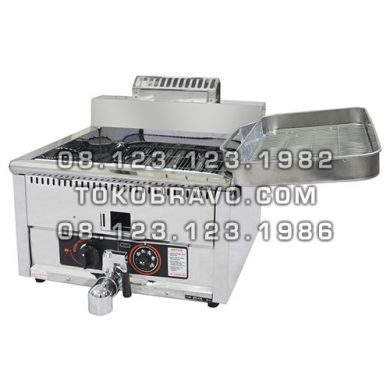 Table Top Gas Deep Fryer GF-17MP Getra