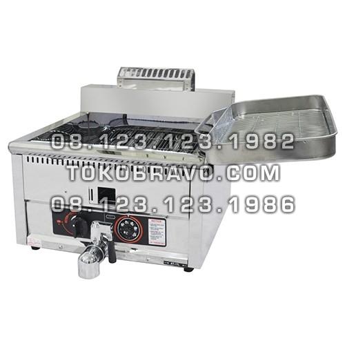 Table Top Gas Deep Fryer GF-17MP Getra