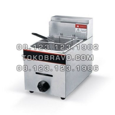 Gas Deep Fryer Table Top GF-71 Getra