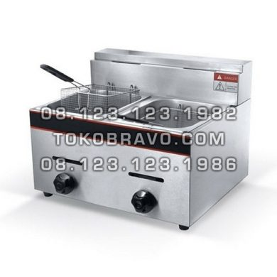 Gas Deep Fryer Table Top GF-73 Getra