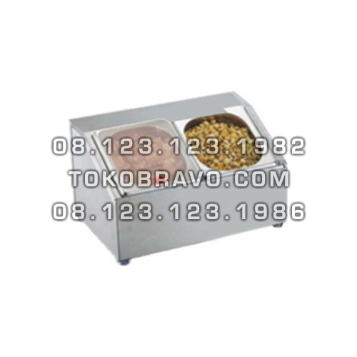 Stainless Steel GN Holder with Polycarbonate Cover GNH-2 Getra