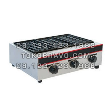 Gas Fish Ball 3 Head Maker GRL-EH877 Fomac