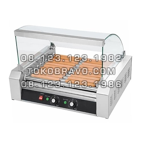 Electric Sausage Roller Grill 5 Roll GRL-ER25 Fomac