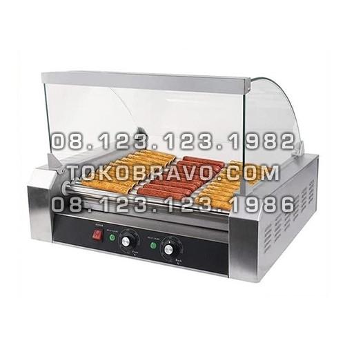 Electric Sausage Roller Grill 7 Roll GRL-ER27 Fomac