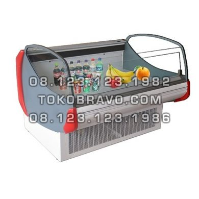 Supermarket Refrigeration Cabinet Deluxe Serve Open Counter Heliconia-LS-187 Gea