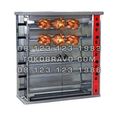 Gas Rotisseries HGJ-6P Getra