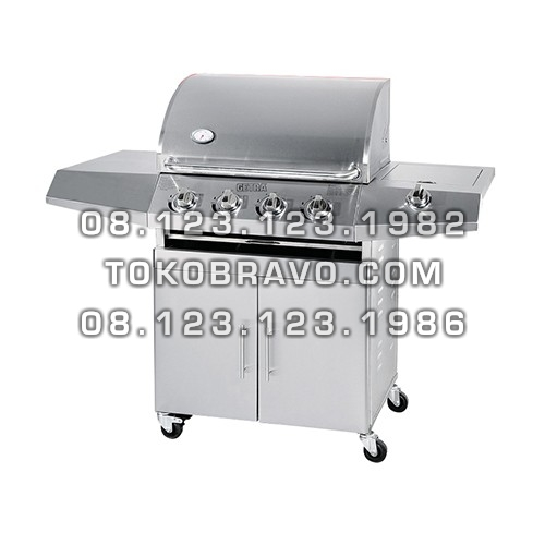Gas Barbeque with Side Burner HSQ-A214S Getra