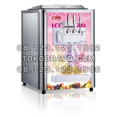 Table Soft Ice Cream Machine with Keep Temperature ICR-BQ316M Fomac