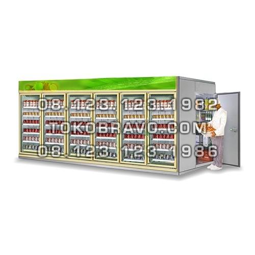 Walk In Display Cooler LCG4-FB Gea