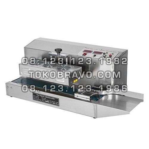 Table Style Continuous Induction Sealing Machine SS LGYF-1500A-II Powerpack