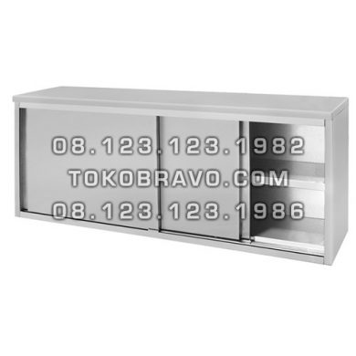 Stainless Steel Wall Hanging Cabinet with Sliding Door LMDG-120 Getra