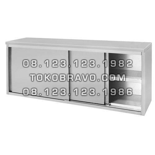 Stainless Steel Wall Hanging Cabinet with Sliding Door LMDG-120 Getra