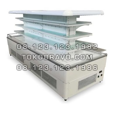 Island Multideck Opened Chiller Lotus-136 Gea