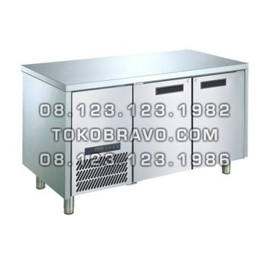 Stainless Steel Under Counter Freezer