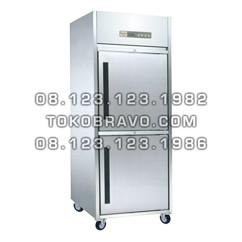 Stainless Steel Refrigerant Cabinet Upright Freezer L-RW8U1HH Gea