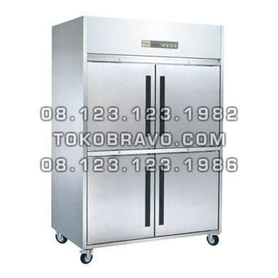 Stainless Steel Upright Freezer
