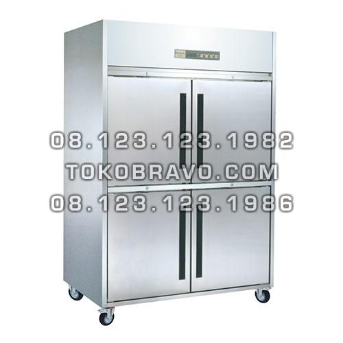 Stainless Steel Refrigerant Cabinet Upright Freezer L-RW8U2HHHH Gea