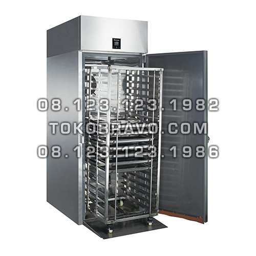Roll-in Stainless Steel Upright Chiller L-RW9U1F-T Gea