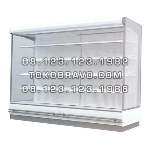 Supermarket Refrigeration Cabinet Double Air Curtain Magnolia ED 375CM Gea
