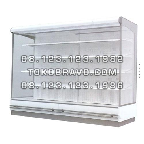 Supermarket Refrigeration Cabinet Double Air Curtain Magnolia FS 375CM Gea