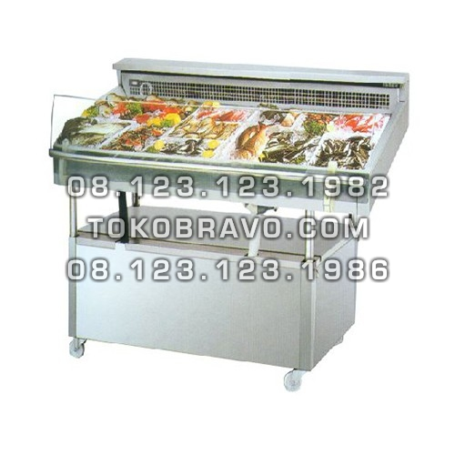 Minimarket Refrigeration Plugin Seafood Counter Cabinet Mangrove-120 Gea