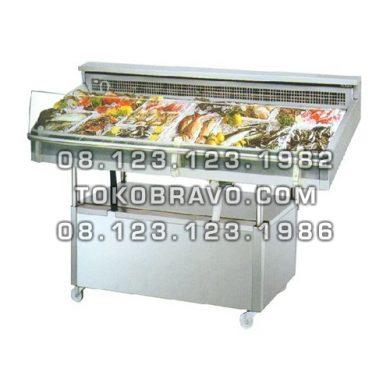 Minimarket Refrigeration Plugin Seafood Counter Cabinet Mangrove-180 Gea