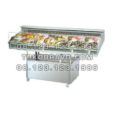 Minimarket Refrigeration Plugin Seafood Counter Cabinet Mangrove-240 Gea