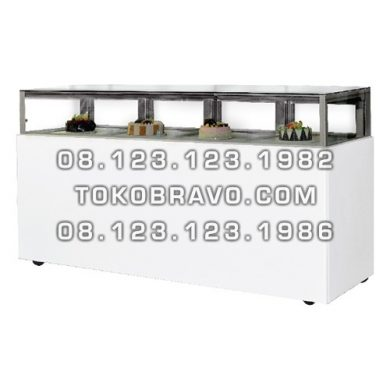 Rectangular Cake Showcase with Drawer MM-880V Gea