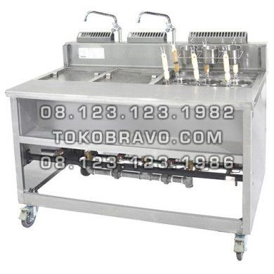 Gas Noodle Cooker + Soup Tank MPN-6C2S Getra