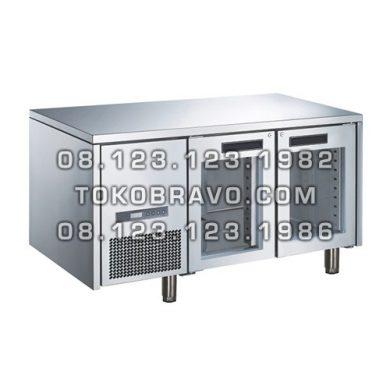 Stainless Steel Glass Door Under Counter M-RW6T2DD Gea