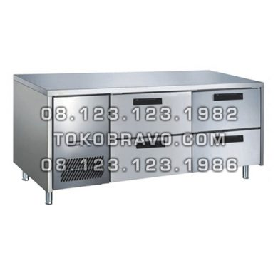 Stainless Steel Under Counter Chiller Drawer Series M-RW6T2NN Gea