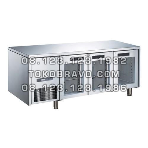 Stainless Steel Glass Door Under Counter M-RW6T3DDD Gea