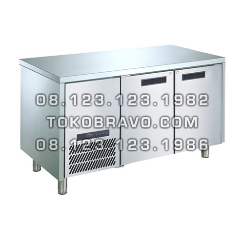Stainless Steel Under Counter Chiller M-RW7T2HH-P Pass Through Gea