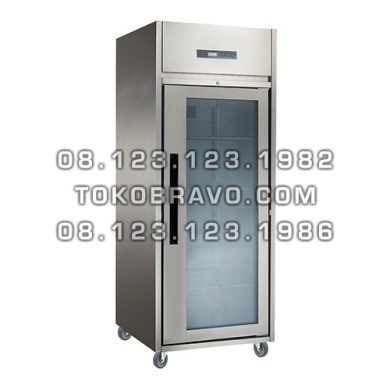 Stainless Steel Glass Door Upright Chiller M-RW8U1G Gea