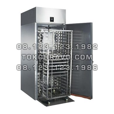 Roll-in Stainless Steel Upright Freezer M-RW9U1F-T Gea