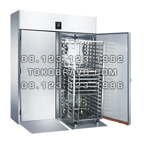 Roll-in Stainless Steel Upright Freezer M-RW9U2FF-T Gea