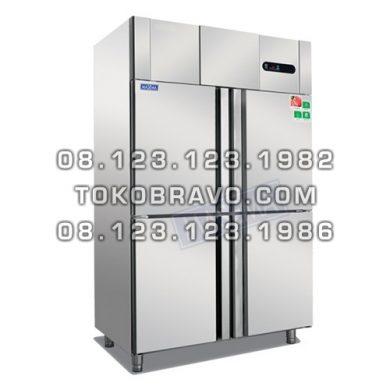 Upright Kombinasi Chiller-Freezer 4 door MS-DG4-1000 Masema